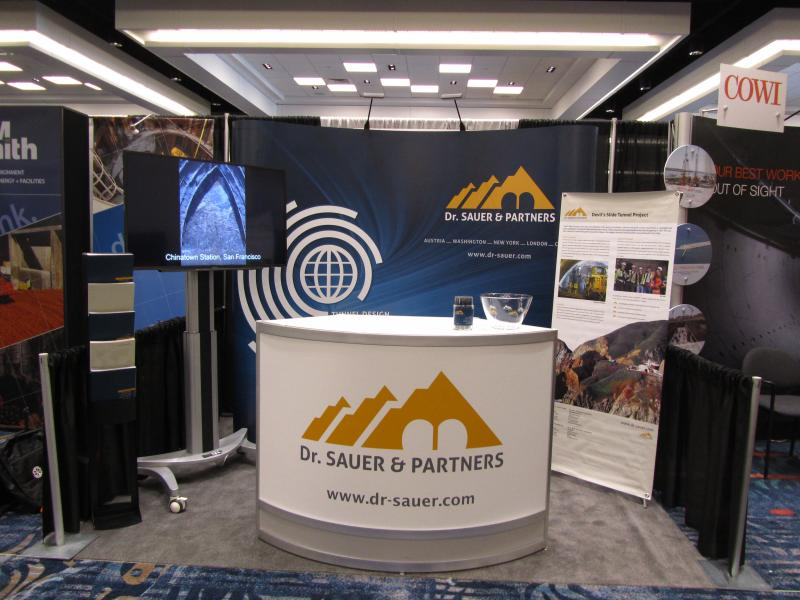The Dr. Sauer & Partners Booth