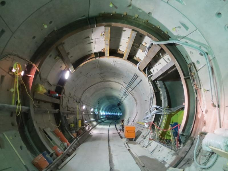 Propping of TBM tunnel at cross passage