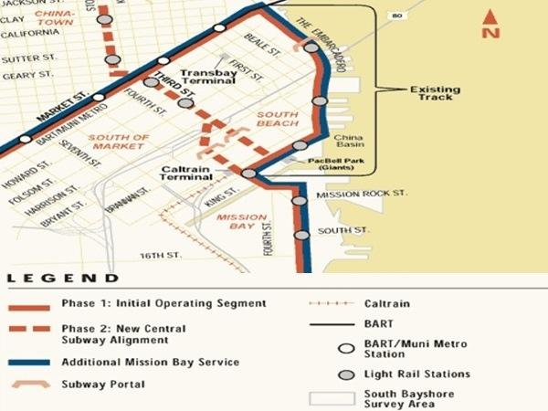 Central Subway Map.Central Subway Dr Sauer Partners